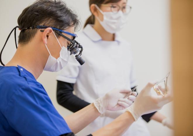 口腔外科専門医経験豊富なドクターです。